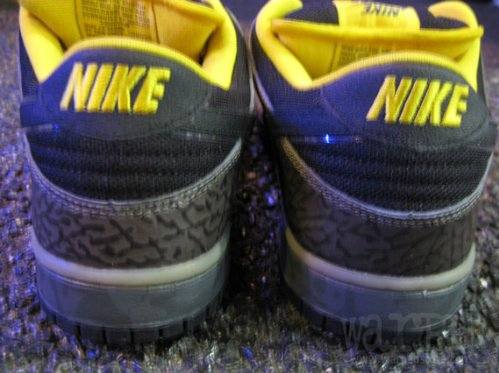 Nike SB Dunk Low Premium - 'Yellow Curb' - Detailed Images