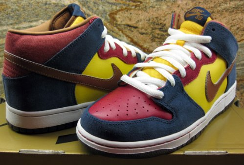 Nike SB Dunk Mid Pro - Varsity Maize - Metallic Cognac - Unreleased Samples