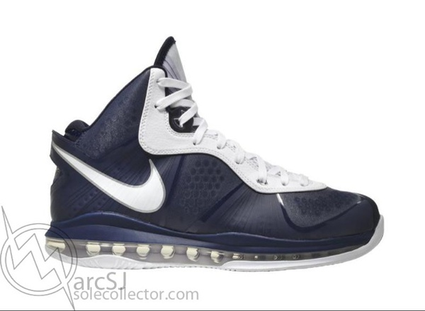 Nike Air Max Lebron VIII (8) V2 Navy/White