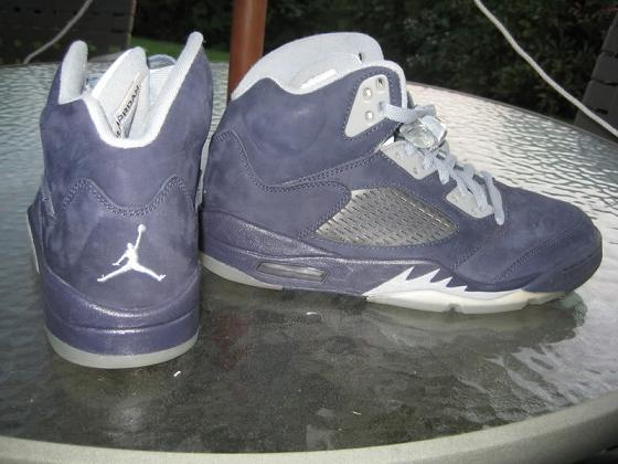 Air Jordan V – Navy/Grey Unreleased Sample