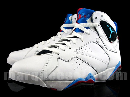 "sale retailer 583f7 84bd8 ... November we brought you some pictures of a retro ""Orion Blue"" Air  Jordan VII sample and several fans got very hopeful for a forthcoming retro  release."