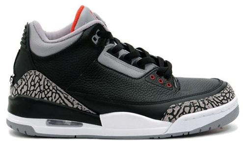 "Air Jordan III (3) ""Black Cement"" Retro Confirmation"