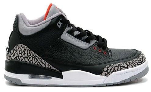 "Air Jordan III (3) ""Black Cement"" Retro Confirmation"