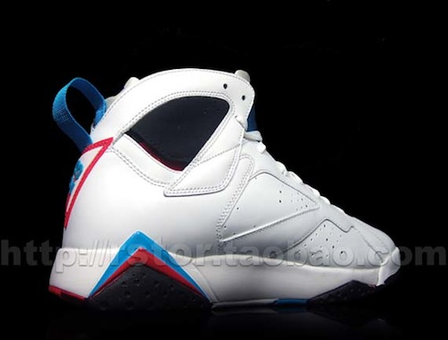 "Air Jordan VII (7) ""Orion Blue"" - More Images"