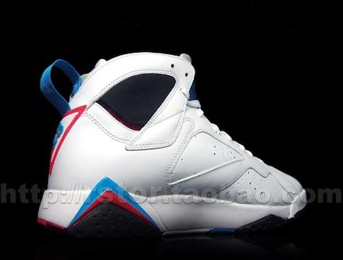 "Air Jordan VII (7) ""Orion Blue"" - More Images"