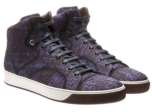 Lanvin Jaquard Hi - Purple