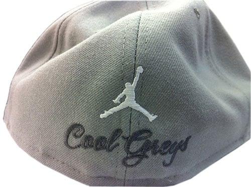 Nike Air Jordan x New Era Cool Grey XI (11) Fitted Cap