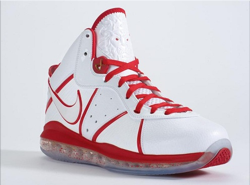 "Nike Air Max Lebron 8 ""Home Edition"""