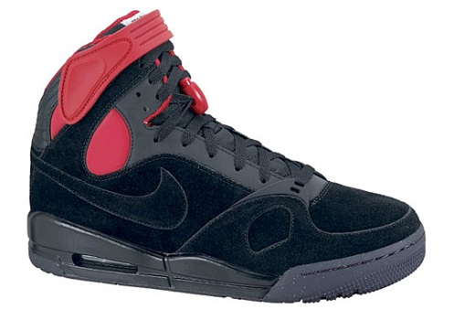 Nike Air PR1 - Black/Black-Varsity Red