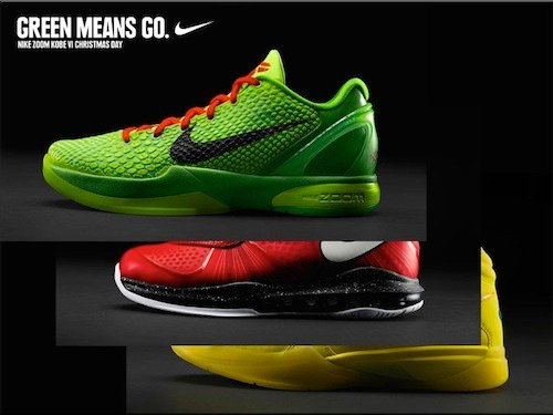 Nike Basketball Christmas Day Sneakers HOH