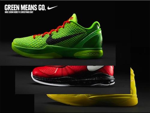 Nike Basketball Christmas Day Sneakers HOH