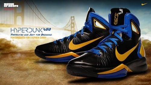"Nike Hyperdunk 2010 - Stephen Curry ""Away"" PE @ HOH"