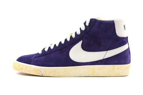 Nike Sportswear Vintage Blazer Hi - Purple/White