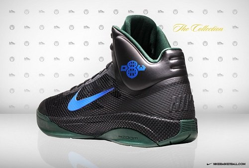 "Nike Zoom Hyperfuse - Deron Williams ""Away"" PE"