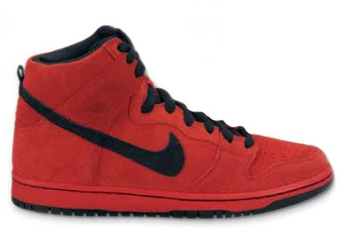 NikeSBDunkHighSportRedBlack1