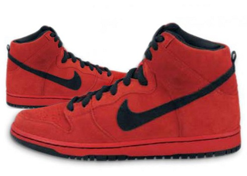 NikeSBDunkHighSportRedBlack2