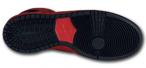 NikeSBDunkHighSportRedBlack3