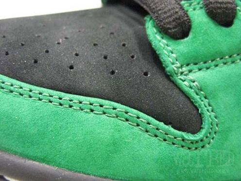 NikeSBDunkLowGreenBlackWhite2