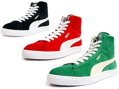 Puma Suede Classic Mid LE - Spring 2011 Collection