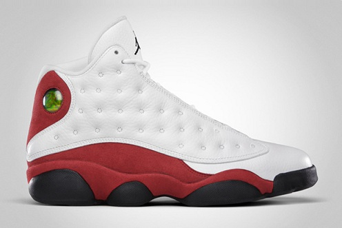 Release Reminder Air Jordan XIII White Black Varsity Red