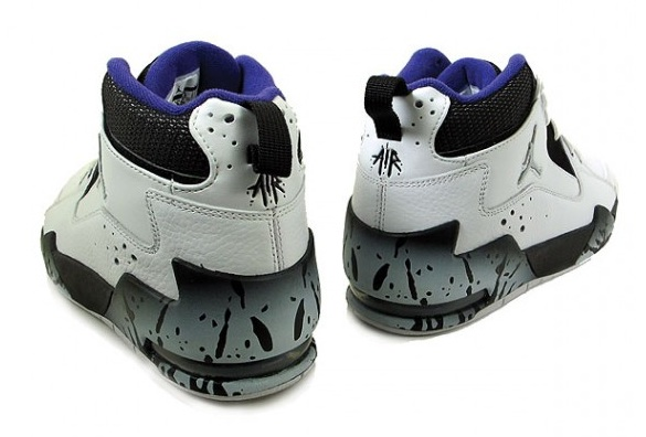 Air Jordan Classic 90 – White/Metallic Silver-Varsity Purple-Black