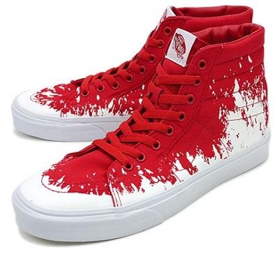 Vans High Tops Red