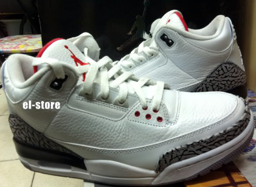 Air Jordan III - 'White Cement' - Available On Ebay