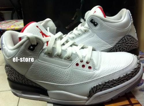 Air Jordan III - 'White Cement' - Available On Ebay