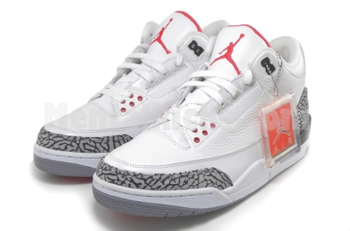 Air Jordan Retro III 'White Cement' - New Images w/ Special Packaging