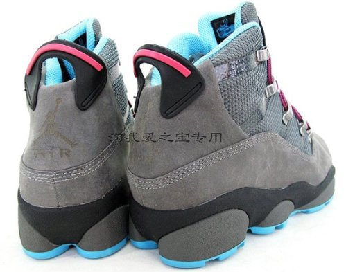 Air Jordan Six Rings Winterized - Cool Grey - Chlorine Blue