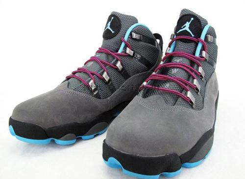 Air Jordan Six Rings Winterized - Cool Grey - Chlorine Blue
