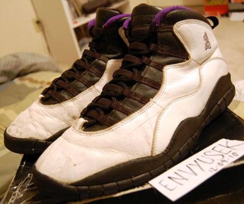 Air Jordan X - Mitch Richmond PE