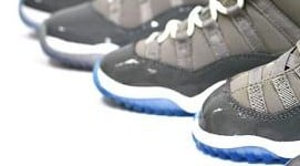 Air Jordan Retro XI 'Cool Grey' Complete Size Run