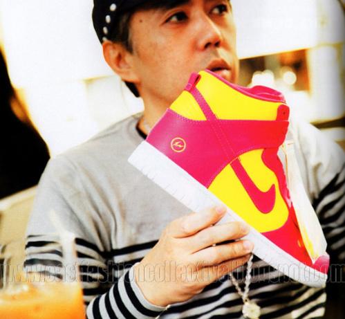 Fragment Design x Nike Dunk High - New Images