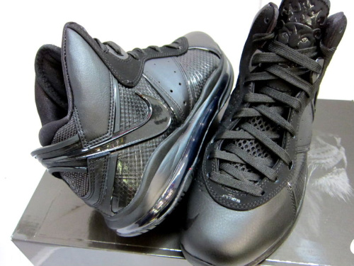 Nike Air Max LeBron 8 - 'Triple Black' - New Images