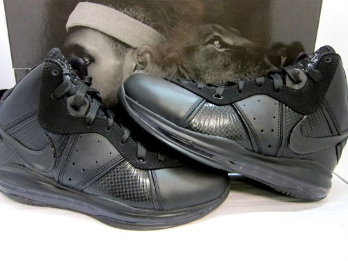 09261bbaf950 Nike Air Max LeBron 8 -  Triple Black  - New Images