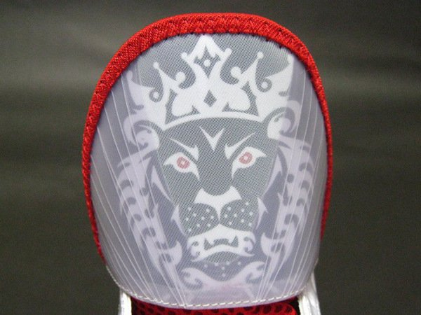 Nike LeBron 8 V2 – White/Black-Varsity Red New Detailed Images