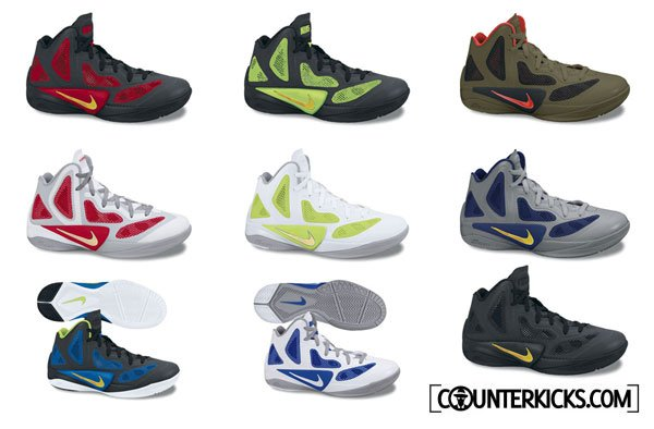 Nike Zoom Hyperfuse 2011 Preview