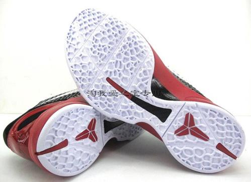 Nike-Zoom-Kobe-VI-(6)-Black/Varsity-Red-White-Detailed-Images-04