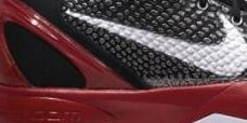 First Look: Nike Zoom Kobe VI - Black/Varsity Red-White