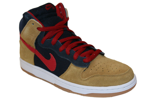 Nike SB Dunk High Premium - Obsidian/ Maple Now Available