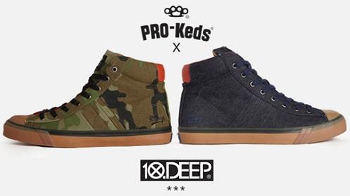 10.Deep x Pro-Keds - Veteran Pack
