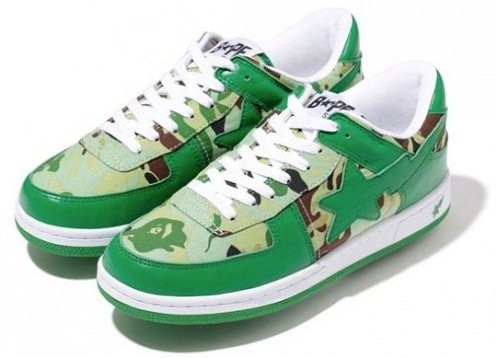 A Bathing Ape Sk8 Sta - Octopus Tailor Camo