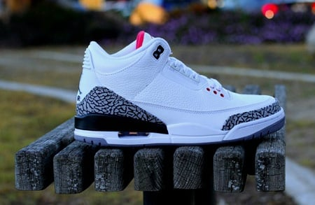 "Air Jordan Retro III (3) ""White Cement"" - One Last Look"