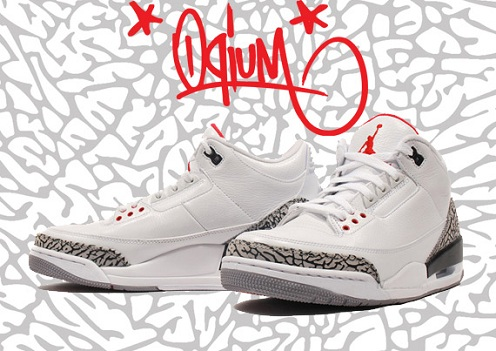 "Air Jordan Retro ""White Cement"" III Available Early"