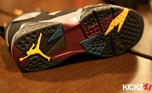 """Air Jordan VII (7) """"Bordeaux"""" - New Images"""