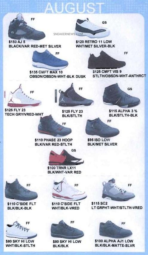 Jordan Brand - Fall 2011 Catalog Previews