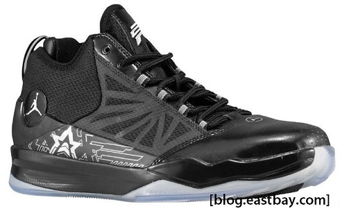 Jordan CP3.IV - Black/White-Metallic Silver Available Now