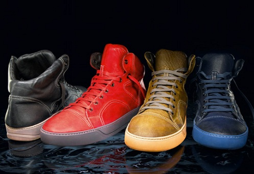 Lanvin Hi-Top Sneakers - 2011 Sneak Peek