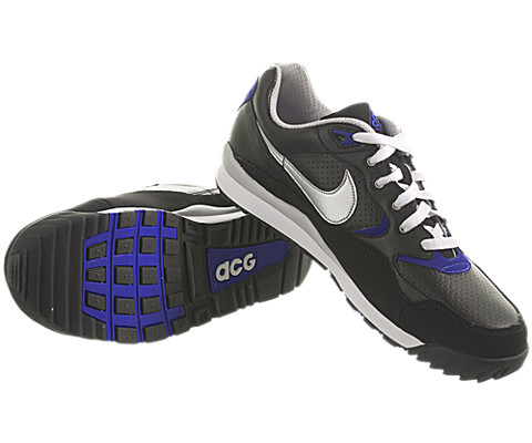 Nike ACG Air Wildwood LE - Black/Metallic Silver-Concord